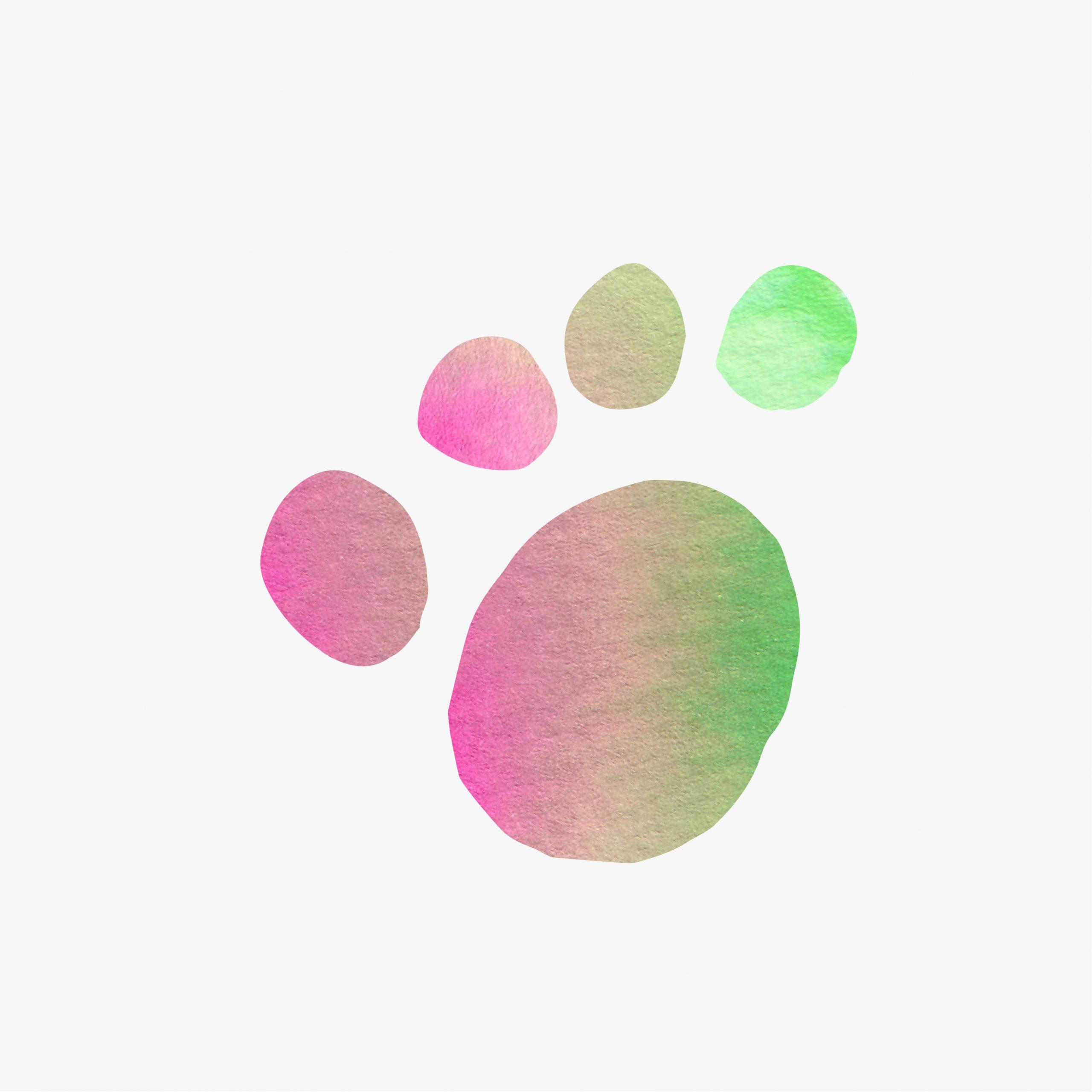 Leaf animal care paw